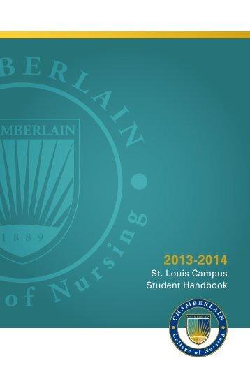 St. Louis Campus Student Handbook - Chamberlain
