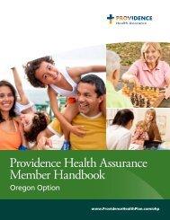 Providence Health Assurance Member Handbook