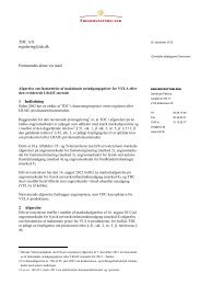 VULA-prisafgørelse (pdf) - Erhvervsstyrelsen