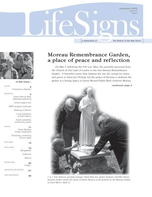 Moreau Remembrance Garden, a place of peace and reflection