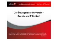 Der Übungsleiter im Verein – Rechte und Pflichten! - steuer-office ...