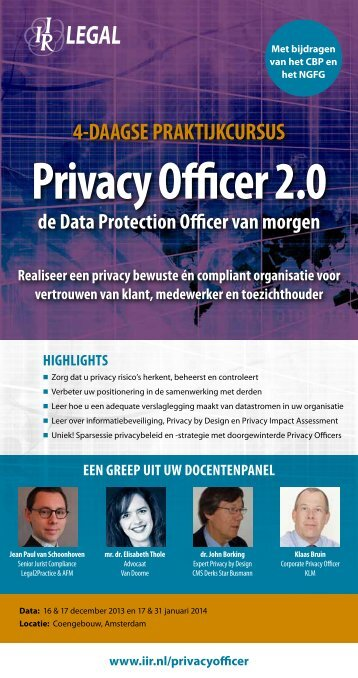 privacy officer 2.0 - Mitopics