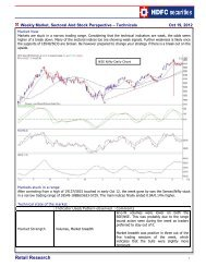 Retail Research - HDFC Securities