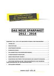 SteuerSparpaket 2012 - essl-stb.at