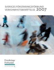2007 - Svensk Försäkring