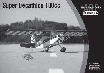 Super Decathlon 100cc - Horizon Hobby UK