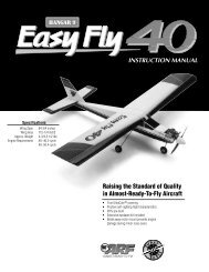 instruction manual - Hangar 9