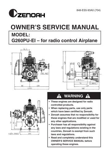 26cc Engine manual
