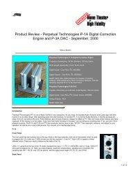 Perpetual Technologies P-1A Digital Correction - AllegroSound