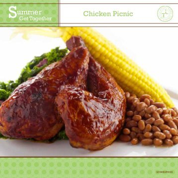 Click here to view the Summer Chicken Picnic menu