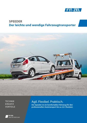 Speeder Prospekt - ALGEMA