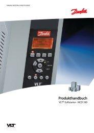 Produkthandbuch MCD 500