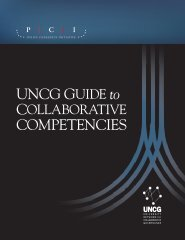UNCG Guide to Collaborative Competencies - Policy Consensus ...