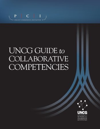 UNCG Guide to Collaborative Competencies - Policy Consensus ...