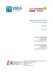 Begleitforschung der TU Wien in