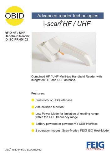 i-scan HF / UHF - Anixandra