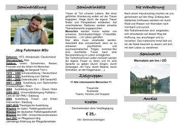 folder erlebnisworkshop hoffnungswanderung ... - Jörg Fuhrmann