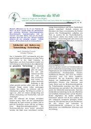 Notizen zu Fragen der Gerechtigkeit - Schwestern vom Guten Hirten