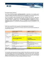 SEPA-Newsletter - Ausgabe 3.2012 - BANK IM BISTUM ESSEN eG