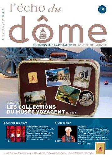 L'écho du Dôme, janvier, mars 2012 - n°23 - Musée de l'Armée