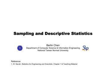 types of sampling in statistics pdf