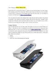 Tips on Buying an iPhone 5 Battery Pack.pdf