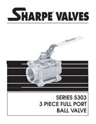 Stainless Steel 3-Piece Full Port Ball Valves - Robin Neron
