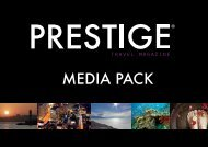Download Media Pack - Prestige Travel Magazine