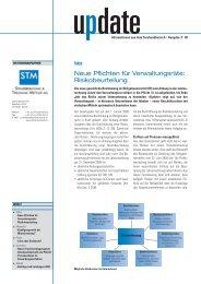 Risikobeurteilung - STM Steuerberatung & Treuhand Mettler AG