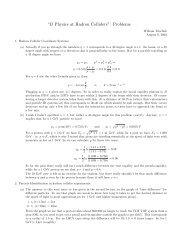 """B Physics at Hadron Colliders"": Problems - University of Toronto ..."
