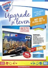 Electroworld folder 18 t/m 31 mei 2015