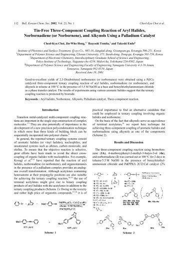 Tin-Free Three-Component Coupling Reaction of Aryl Halides ...
