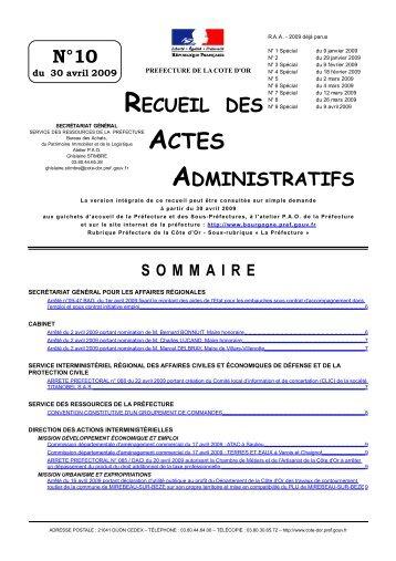 N°10 - Préfecture de la Région Bourgogne et de la Côte-d'Or