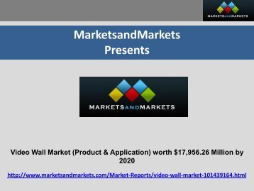 Video Wall Market