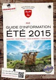 Guide d'information été 2015