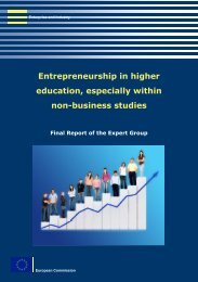 EUROPA - ENTREPRENEURSHIP IN HIGHER EDUCATION ... - Idea