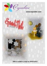 Catalogue PDF noel 2011 CEJOULINE