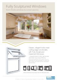 Double Glazed, Energy Efficient uPVC Windows Aberdeen