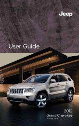 2012 Jeep Grand Cherokee User Guide