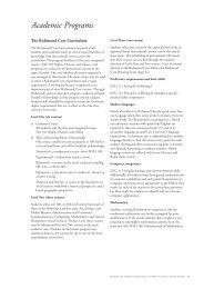 Academic Programs - Richmond - The American International ...