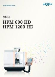 HPM 600 HD HPM 1200 HD DE