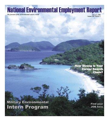 February 2005 National Environmental Employment Report