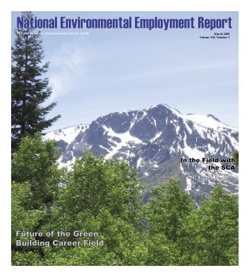 March 2005 National Environmental Employment Report