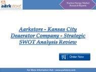 Aarkstore - Kansas City Deaerator Company - Strategic SWOT Analysis Review