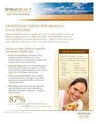 WheatSelect® white spring whole wheat flour (PDF) - Cargill Foods