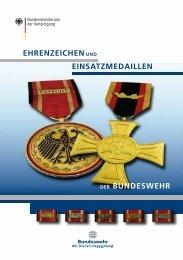 Die Ehrenzeichen der Bundeswehr ( PDF , 2,7 MB