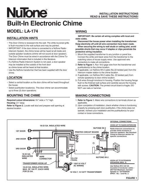 installation guide  nutone