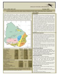 latin american focused gold production and exploration ... - Orosur
