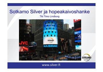130925 Sotkamon hopekaivos TL.pptx - Sotkamo Silver AB