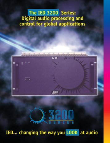 The IED 3200 Series - Innovative Electronic Designs
